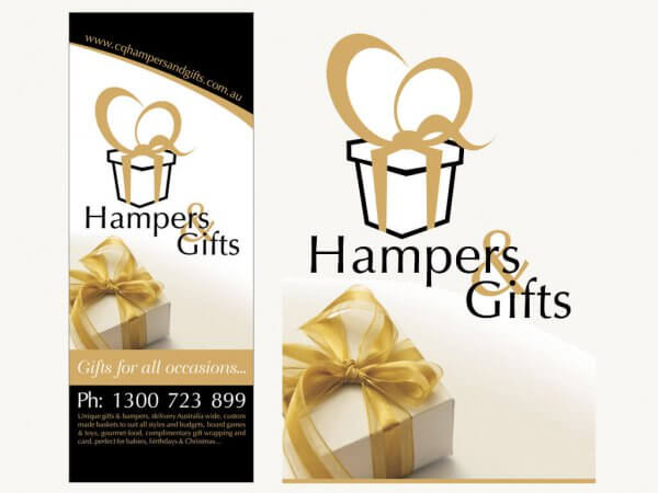 CQ Hampers and Gifts Pop-Up Banner