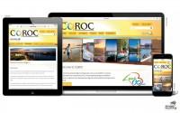 CQROC website screenshots