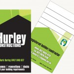 Hurley Constructions Cards
