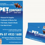 Pet Company Ad and Cards