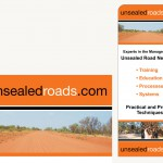 Unsealed Roads Banner