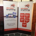 Exhibition signage & pull up stands